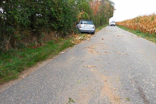 Unfallflucht im Breiteweg