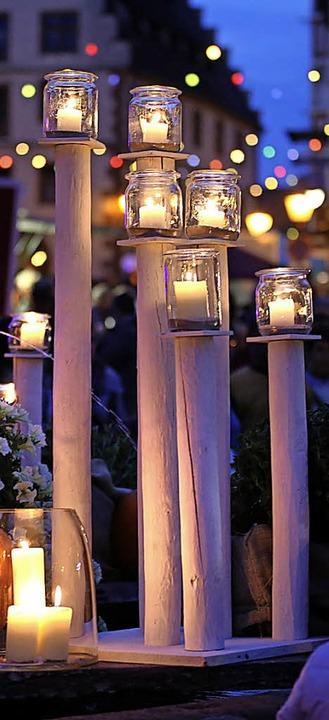 Stimmungsvolle Beleuchtung bei der Lichternacht   | Foto: Ziesmer