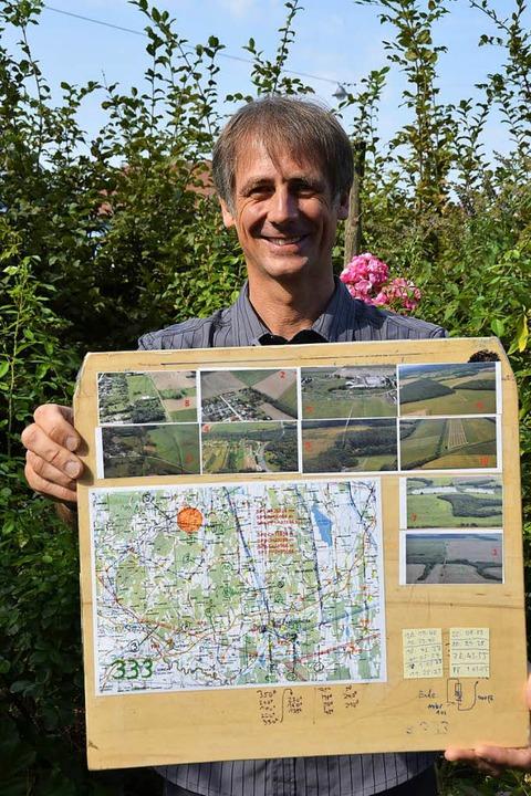 Mit Karten wie dieser ist Nübling bei den Wettbewerben unterwegs.  | Foto: Sophia Hesser