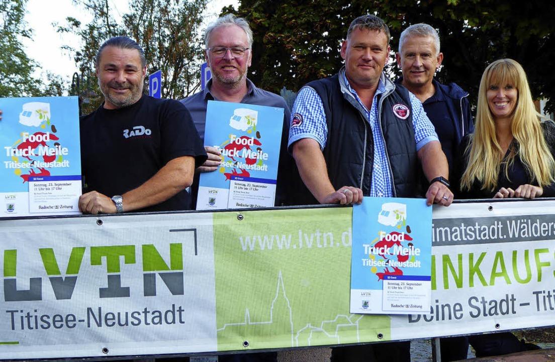 Partner für die Food Truck Meile in Ne...Regionalverlag der Badischen Zeitung.   | Foto: Peter Stellmach