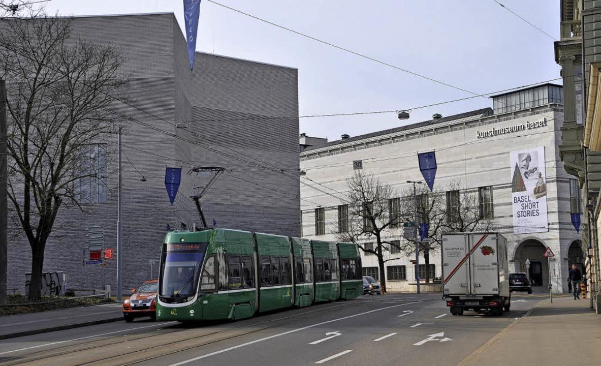 Das Kunstmuseum Basel (rechts der Haup...muss sich betrieblich neu aufstellen.   | Foto: Daniel Gramespacher