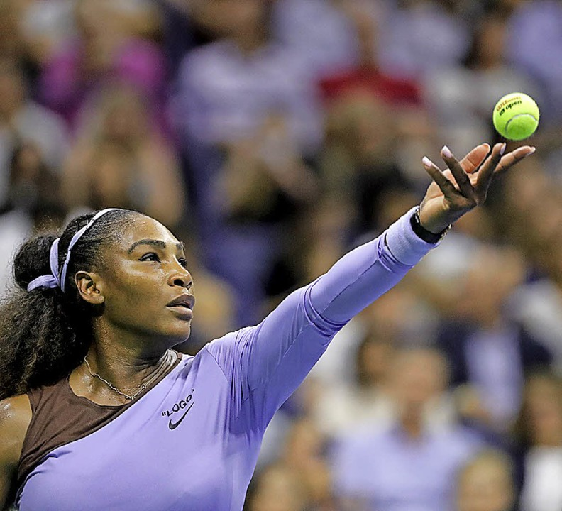 Rekordjägerin Serena Williams<ppp></ppp>  | Foto: dpa