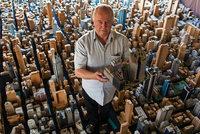 Rentner arbeitet seit 65 Jahren an Modellstadt aus Pappe