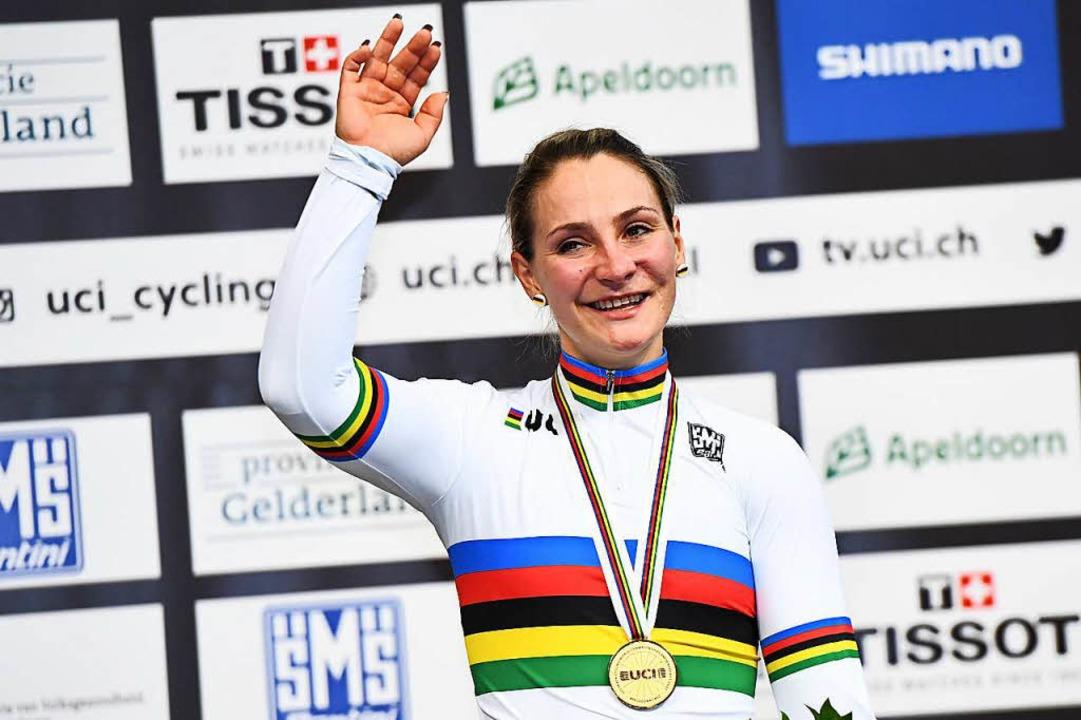 Die zweimalige Olympiasiegerin und elf...en folgenschweren Unfall. (Archivbild)  | Foto: AFP