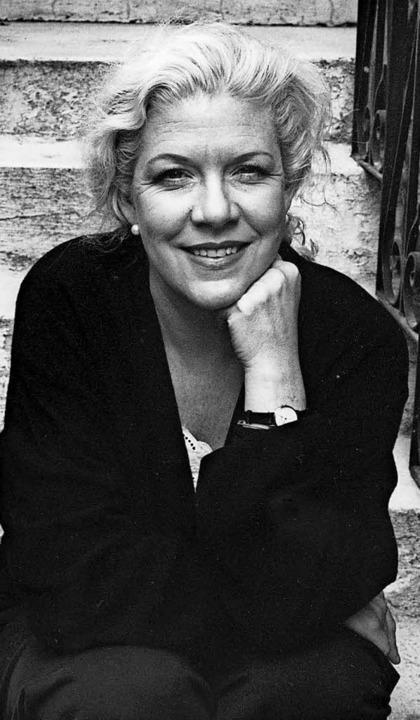 Aktivistin, die Literatur macht: Jennifer Clement.   | Foto:  BARBARA SIBLEY