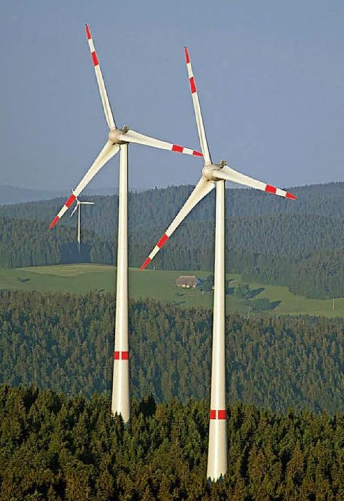 Ohne Speichermöglichkeiten sei  Windkraft unsinnig, meint ein Leser.   | Foto:  dpa