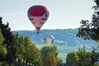 Ballonwettfahrt über das Dreiländereck endet in Binzen und Haltingen