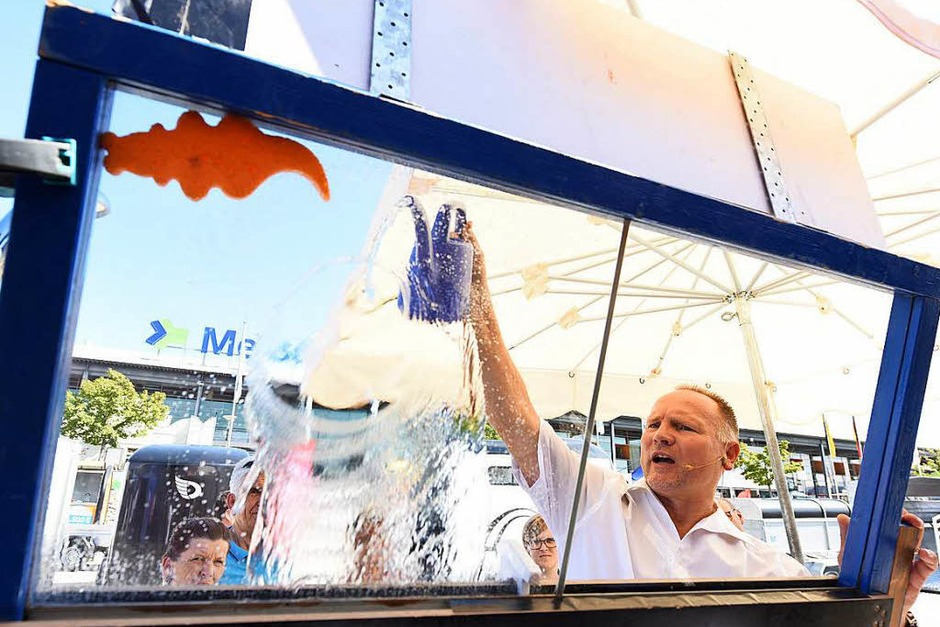Ein riesiges Angebot auf der Badenmesse (Foto: Rita Eggstein)