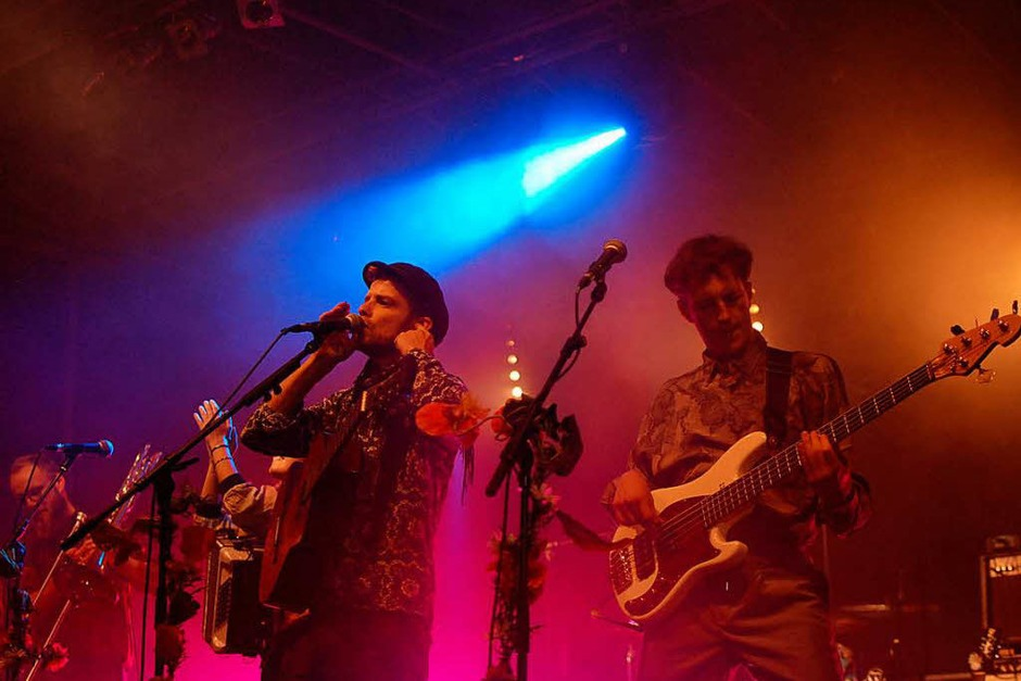 "Die Band ""Rasga Rasga"" (Foto: Louis Groß)"