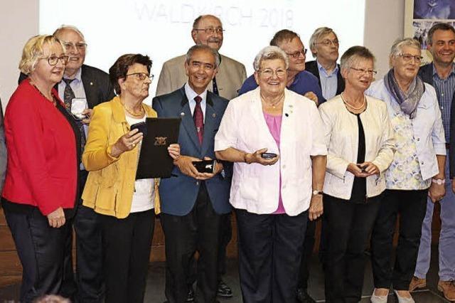 Zehn Medaillen für Heimat-Aktive