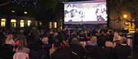 Das Open-Air-Kino hat sich als Gesellschaftsevent etabliert