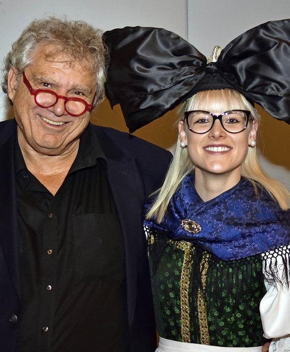Gerd Birsner und Leonie Kruß führen durch den Hanauer Owe<ZAM-BlindText>