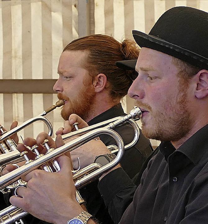 Echte Dampfmusiker  | Foto: Julienne Rogg
