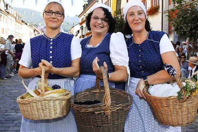 Fotos: Landesfestumzug bei den Heimattagen in Waldkirch
