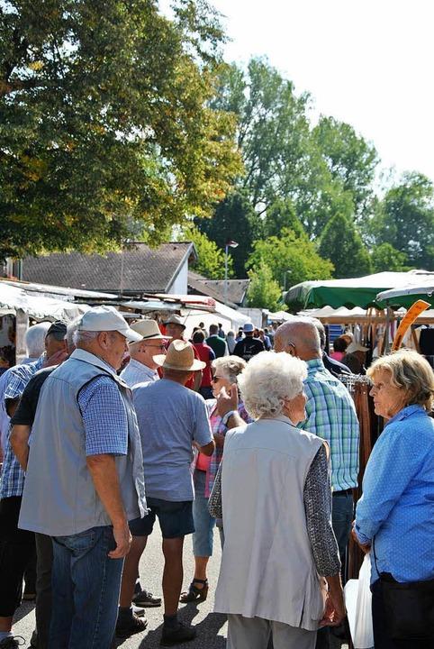 Viel Betrieb auf dem Offnadinger Dorffest  | Foto: Ralph Fautz