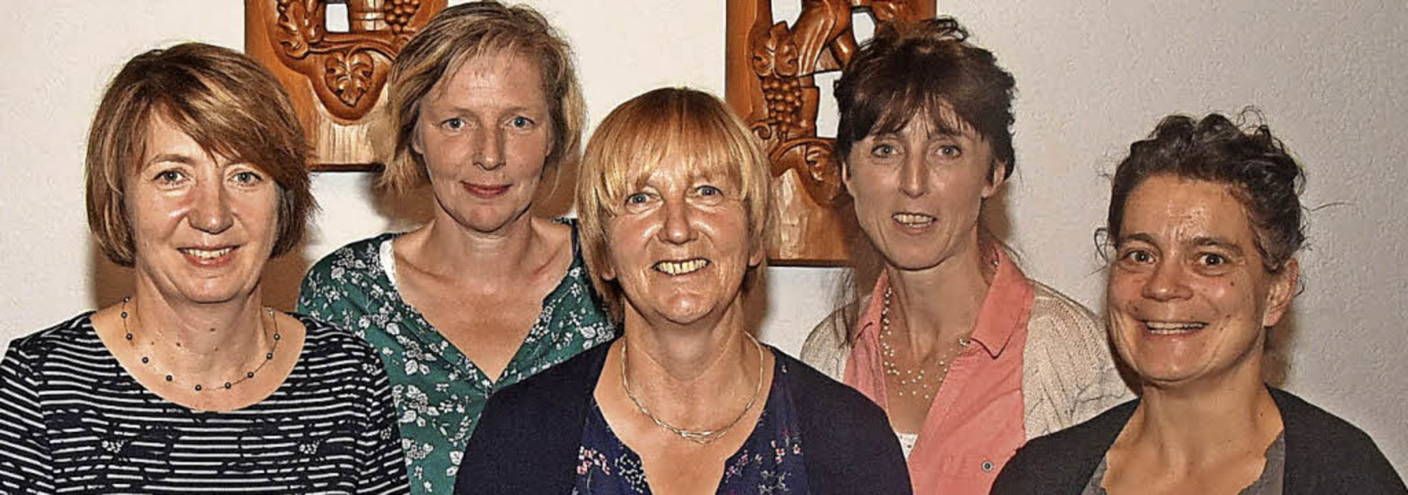 Das Vorstandsteam der Landfrauen vom H..., Vroni Tröndle und Petra Dischinger.   | Foto: Stefan Pichler