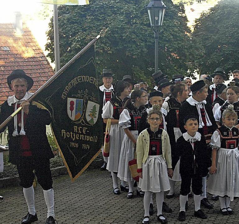 Als historischen Tag beging die Festge...e den feierlichen Einzug in die Kirche  | Foto: Karin Stöckl-Steinebrunner