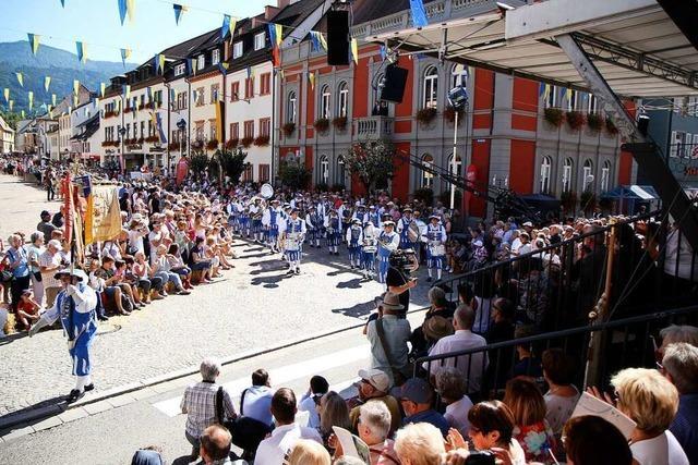 Heimattage in Waldkirch mit großem Landesfestumzug zu Ende gegangen