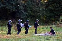 Polizei räumt Protestcamp von Autobahn-Gegnern im Elsass
