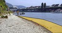 Viel Kies für mehr Naturnähe am Ufer