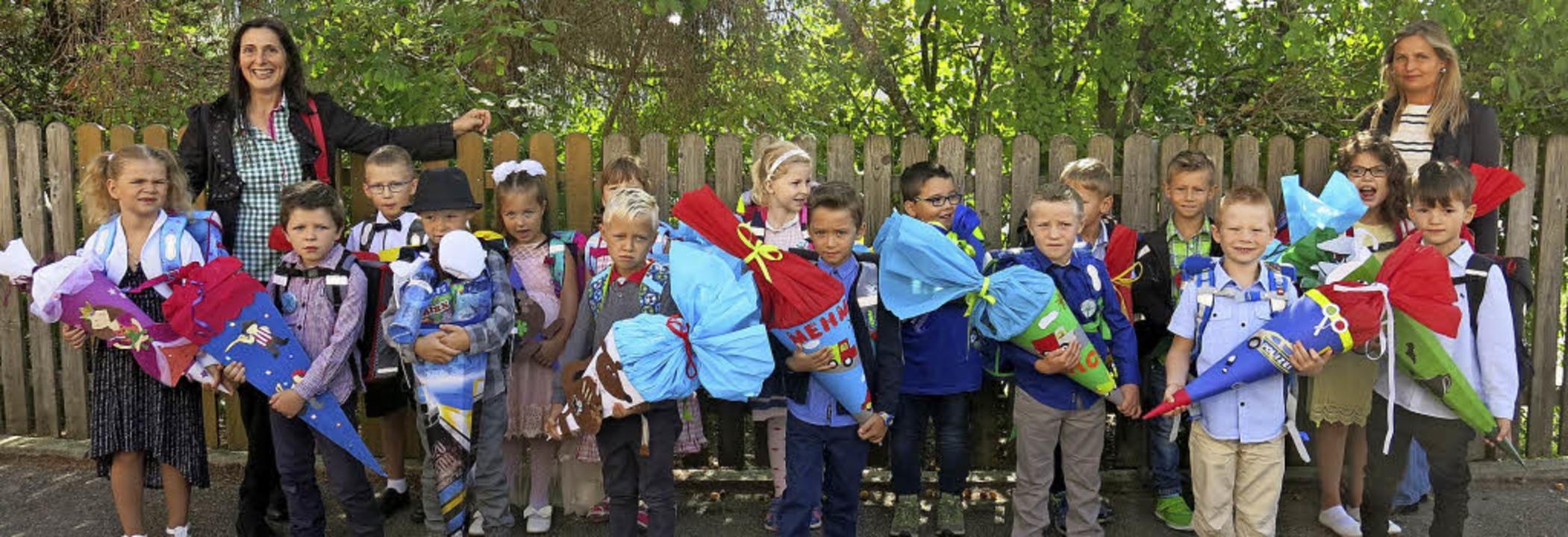 Die Klasse 1d geht am Schulstandort Bonndorf zur Schule.  | Foto: Erhard Morath