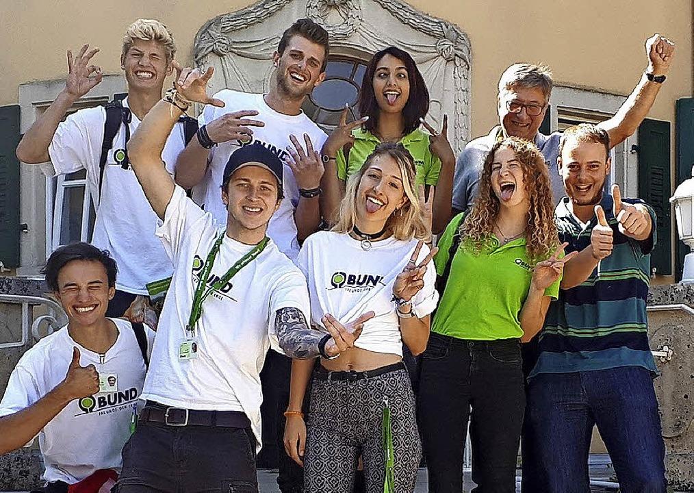 Studenten wollen  neue Mitglieder für den BUND im Kreis Lörrach werben.   | Foto: BUND
