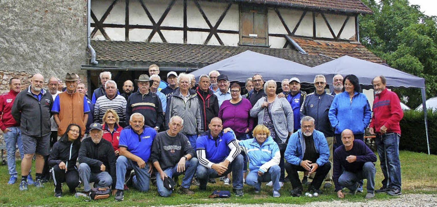 Französisch-deutsche Boule-Freundschaft zwischen Sélestat und Waldkirch.    | Foto: Jutta Beckmann