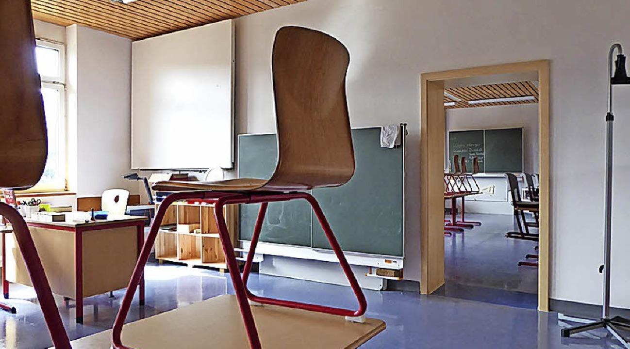 Das Doppelzimmer für Inklusion an der Realschule.  | Foto: Peter Stellmach