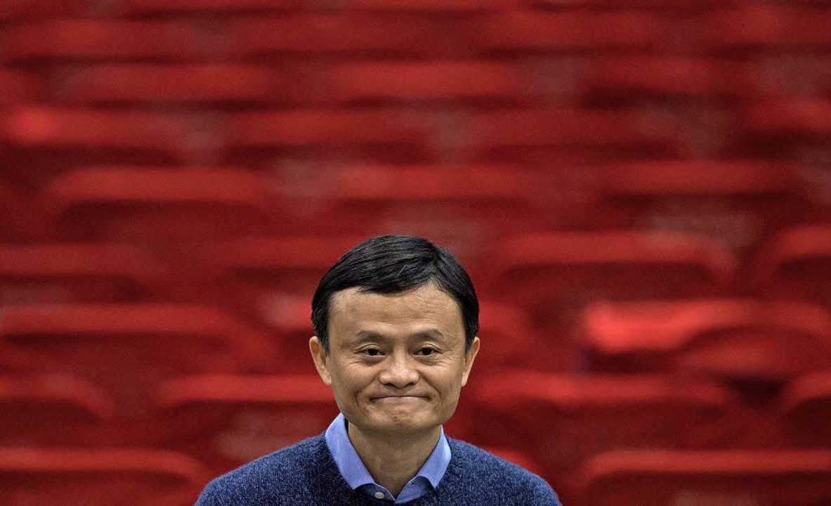 Jack Ma, der Gründer des chinesischen ...a, will die Führung der Firma abgeben.  | Foto: dpa