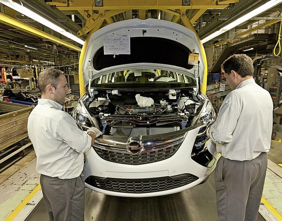 Eines der modernsten Automobilwerke der Welt: das Opel-Werk Rüsselsheim    Foto: Adam Opel AG