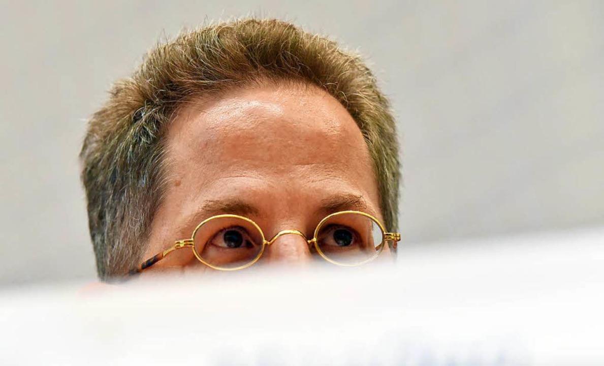 Der Präsident des Bundesamtes für Verfassungsschutz, Hans-Georg Maaßen  | Foto: dpa