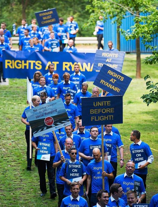 Streik bei Ryanair  | Foto: dpa