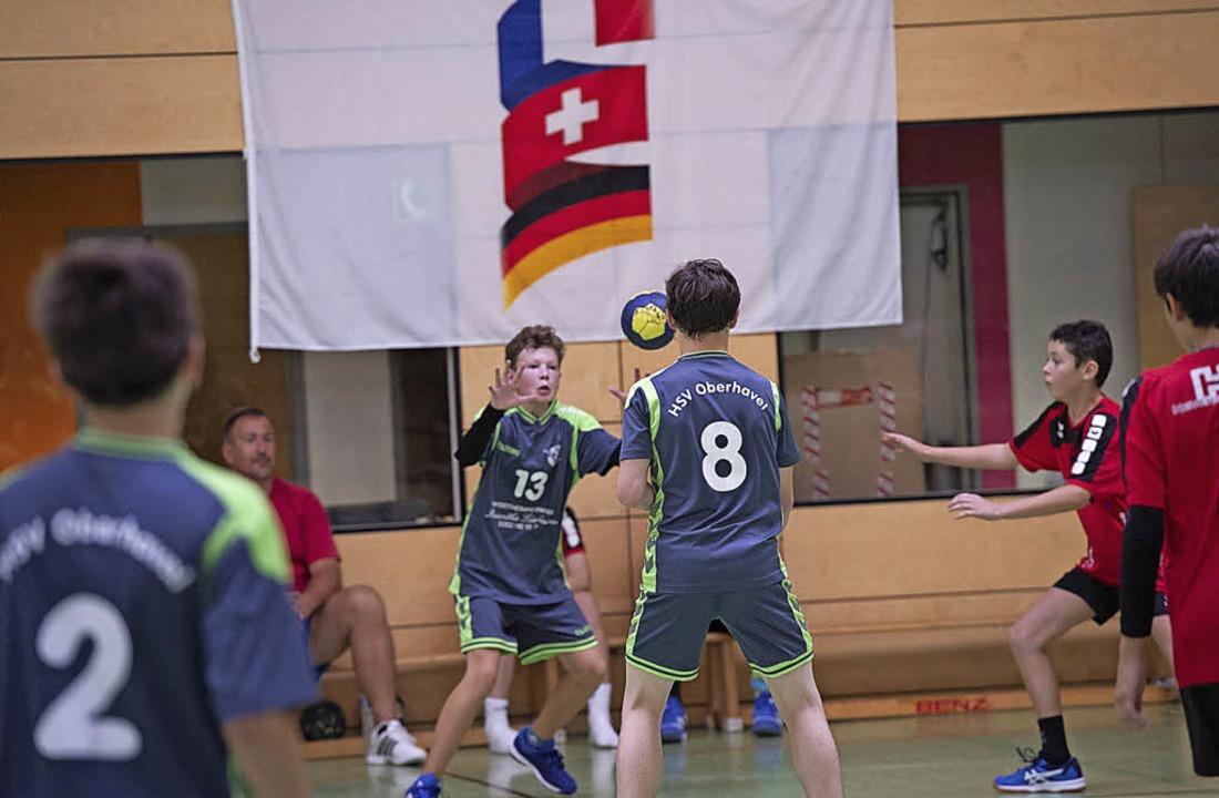 Beim internationalen Jugendturnier tra...lheims Partnerstadt Hohen Neudorf an.   | Foto: münch