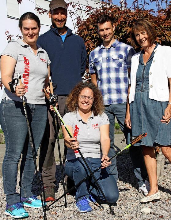 Machen bei den Waldtagen mit (von link... und Ingrid Bär vom Schwarzwaldverein.  | Foto: Gerd Leutenecker
