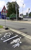 """An der """"Ikea-Kreuzung"""" gilt jetzt eine neue Verkehrsregelung"""