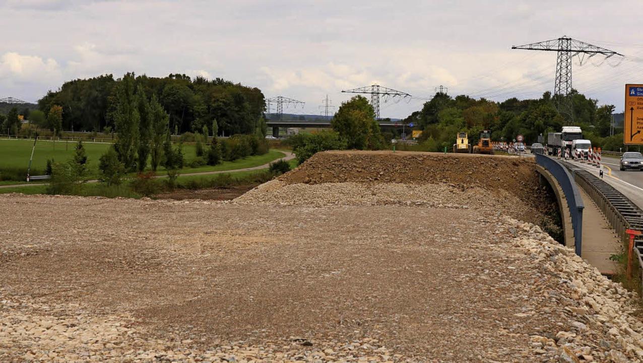 Die Brücke über die Donau ist das lang...s sie 1,2 Millionen Euro teurer wird.   | Foto: Jens Wursthorn