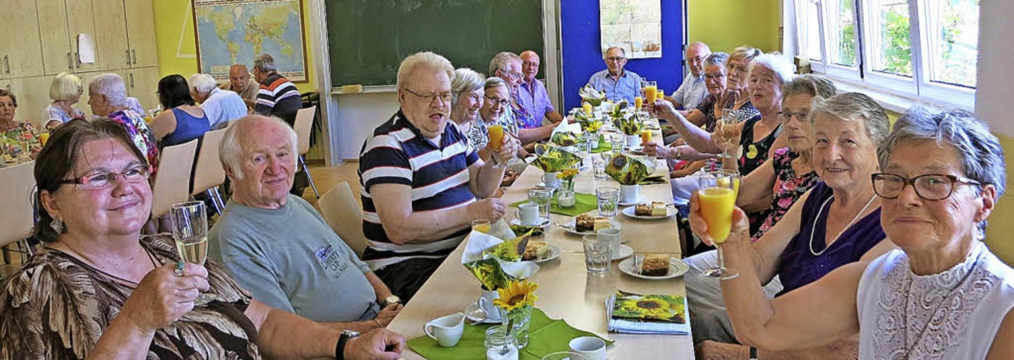 <BZ-FotoAnlauf>DRK-Singnachmittag:</BZ...Seit fünf Jahren singen die Senioren.   | Foto: DRK