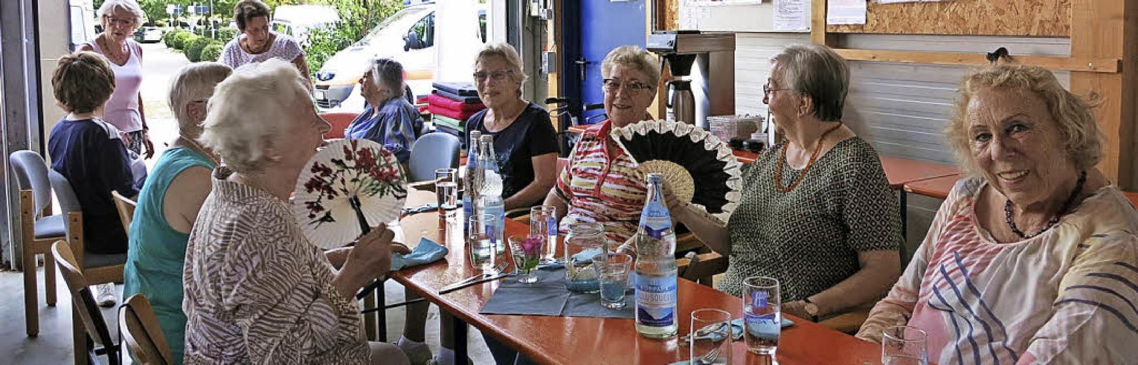 <BZ-FotoAnlauf>DRK-Sommerfest:</BZ-FotoAnlauf> Trotz Hitze war einiges los.   | Foto: DRK