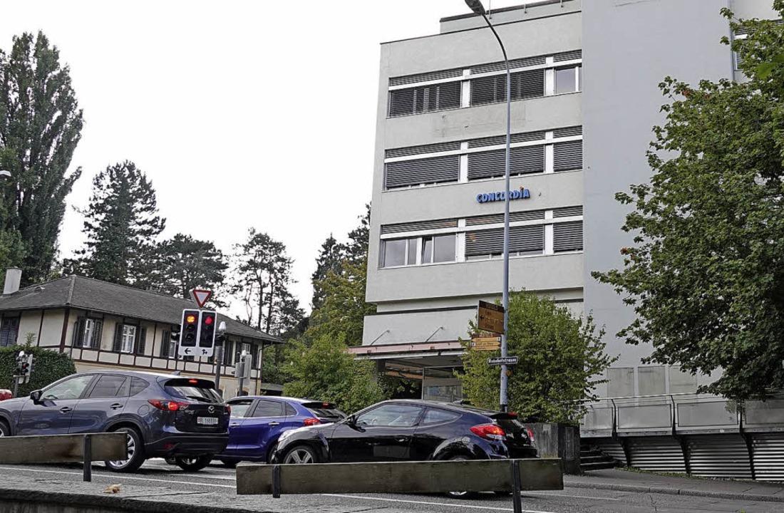 Im ehemaligen Coop-Gebäude wird die In... Das Baugesuch liegt  öffentlich aus.   | Foto: Valentin Zumsteg
