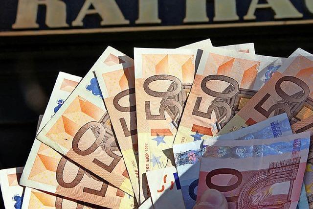 Gewerbesteuereinnahme steigt um rund 40 Prozent