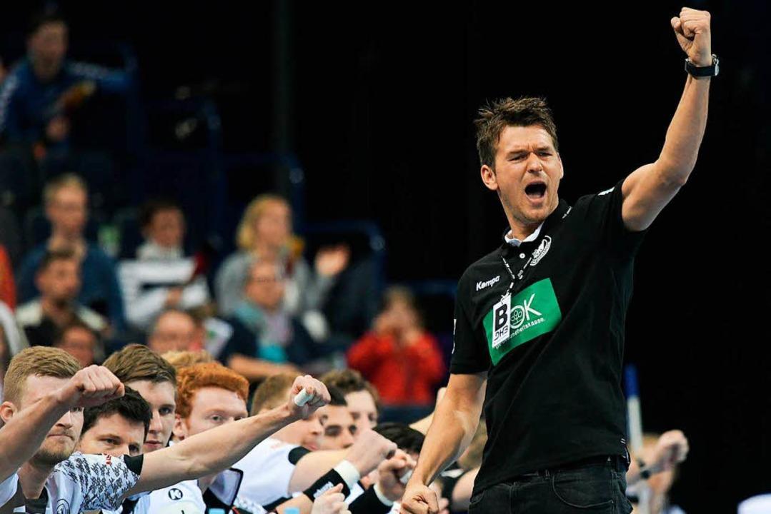 Bundestrainer Christian Prokop hat große Ziele.  | Foto: dpa