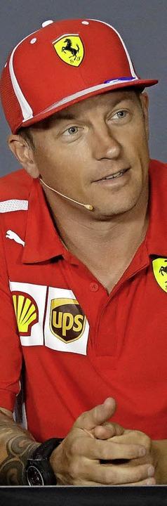 Kimi Räikkönen  | Foto: dpa