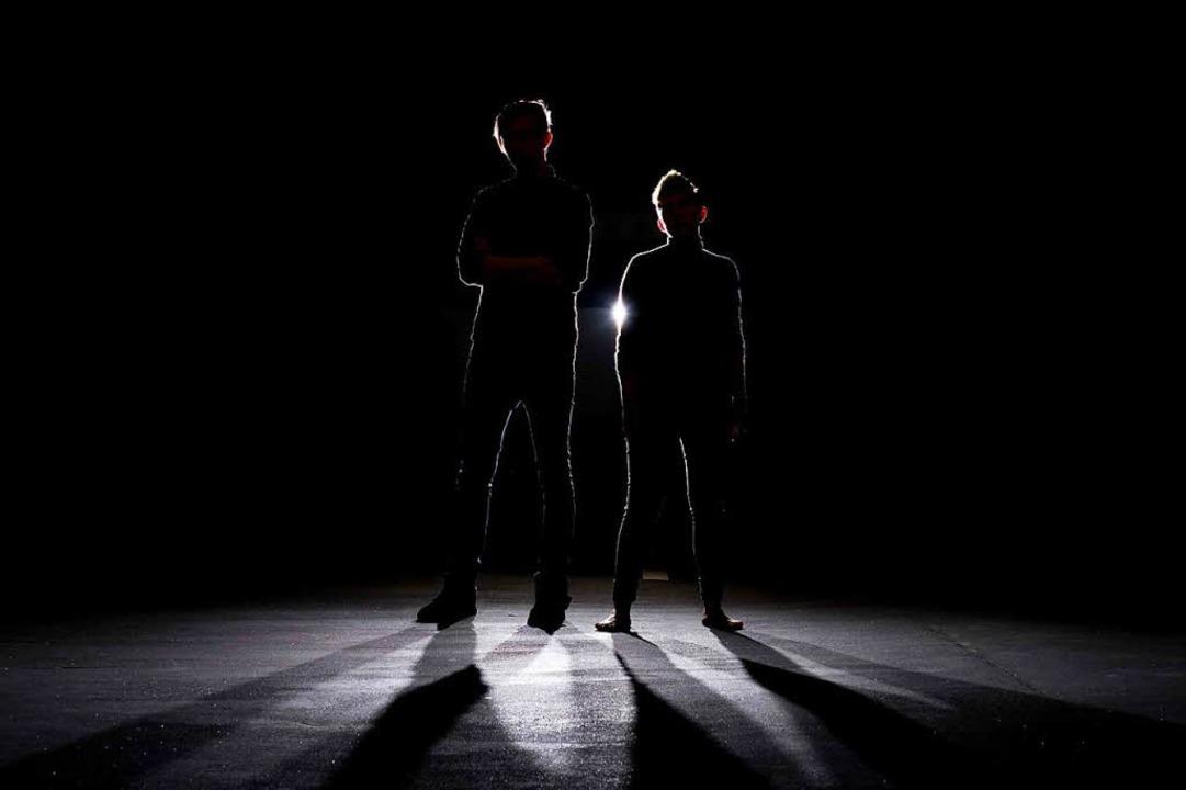 Das Freiburger Dark Wave-Duo Totengeläut  | Foto: Frank Bale