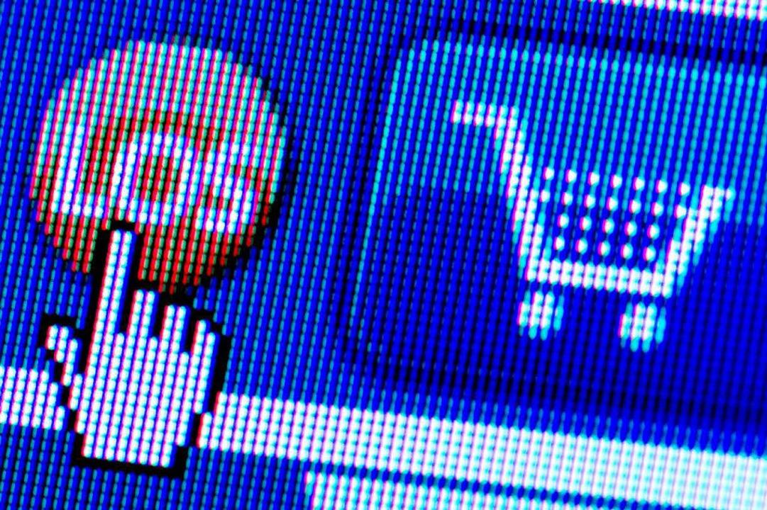 Online einkaufen könnte unbequemer werden.  | Foto: Arno Burgi