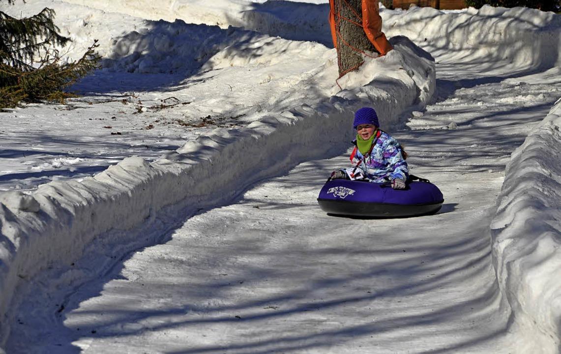 Auch eine Snowtubing-Bahn gehört zum neuen Konzept.   | Foto: Archivfoto: Christiane Sahli