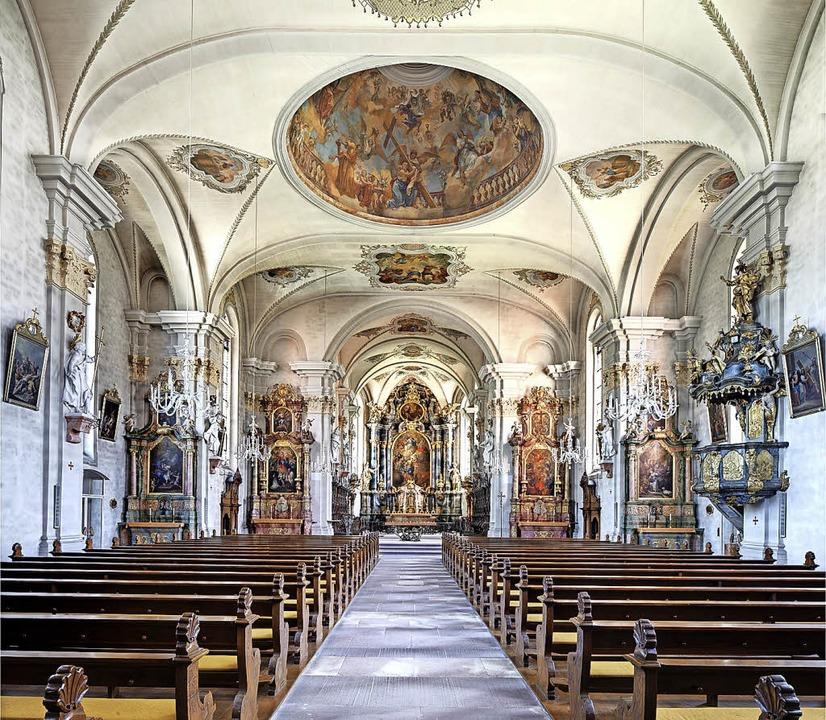 Blick in die St.-Margarethen-Kirche.   | Foto:  KSEW/Erwin Reiter