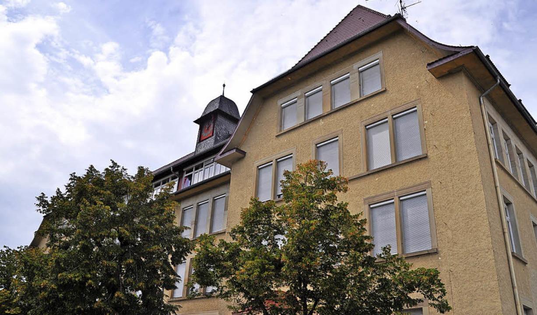 Um ein halbes Jahr etwa verzögert sich...campus an der Friedrich-Ebert-Schule.   | Foto: Nicolai Kapitz