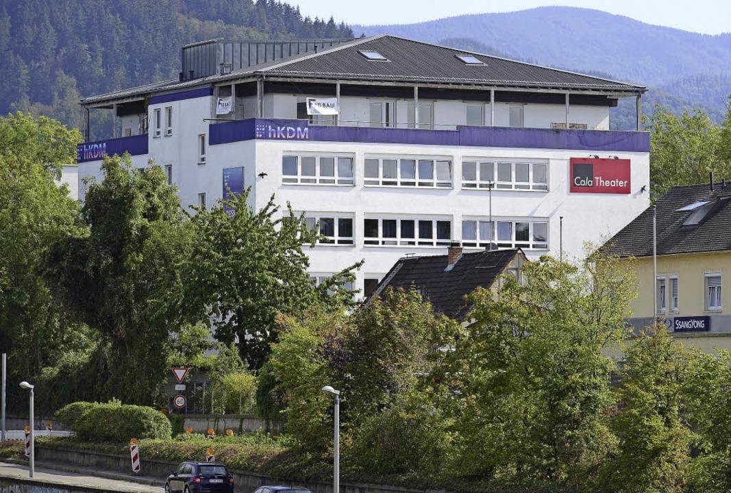 Die HKDM in der Haslacher Straße &#821...m 1. Oktober die Hochschule Macromedia  | Foto: ingo schneider