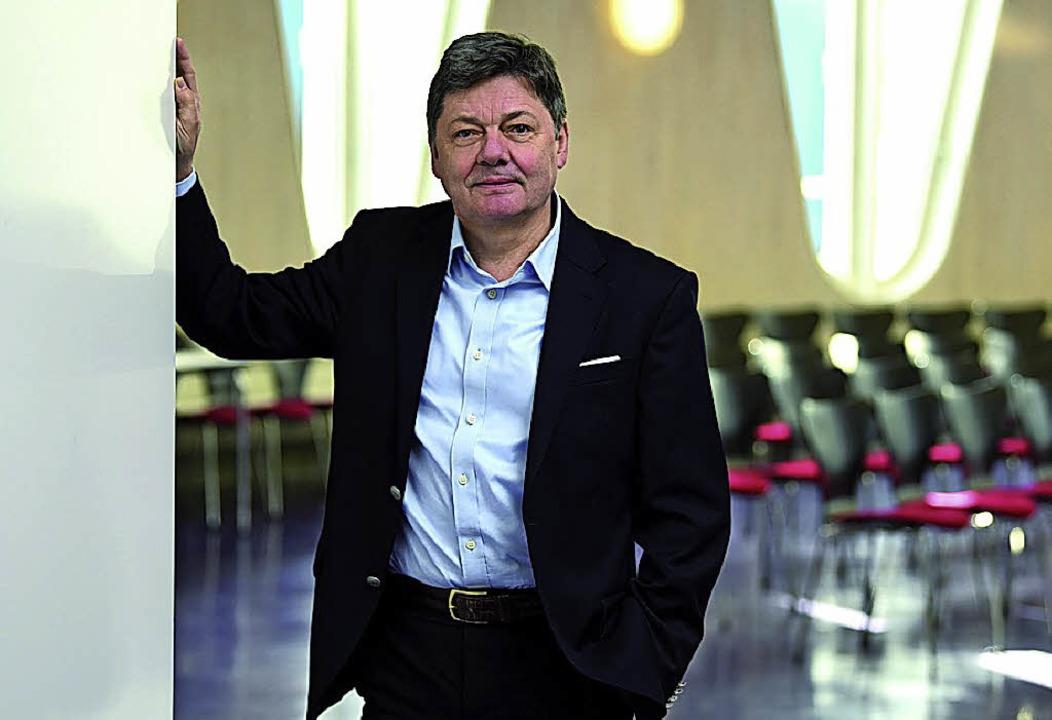 DHBW-Rektor Theodor Karl Sproll   | Foto: DHBW