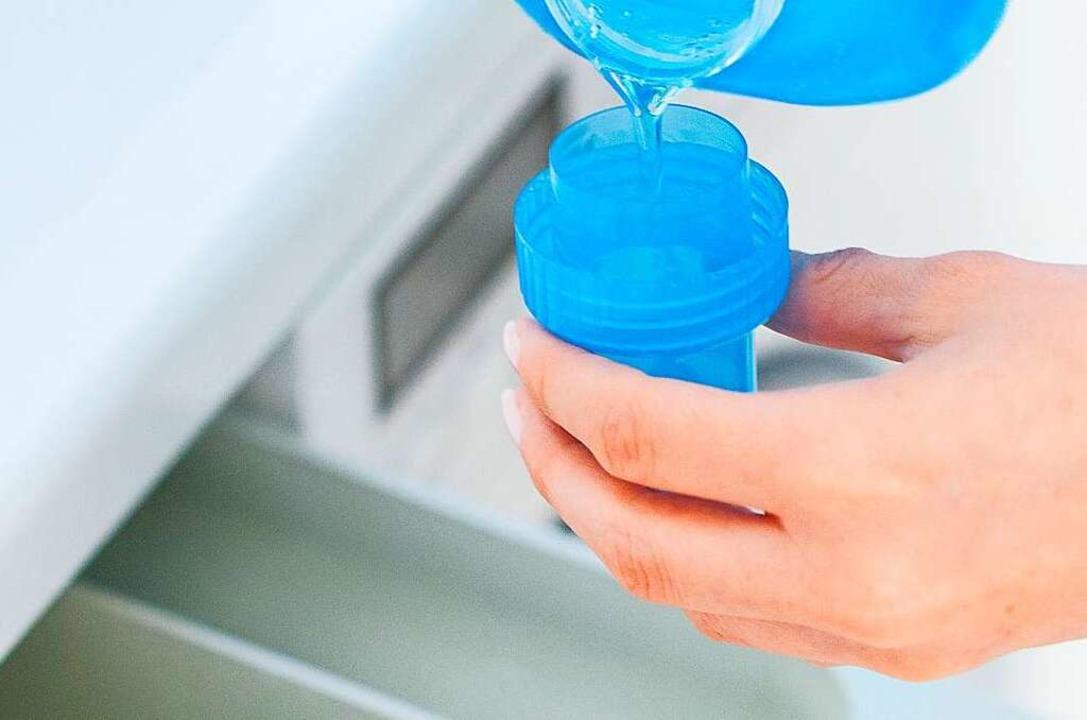 Flüssigwaschmittel als Gratisprobe im ...indeutig als  unzumutbare Belästigung.  | Foto: Christin Klose